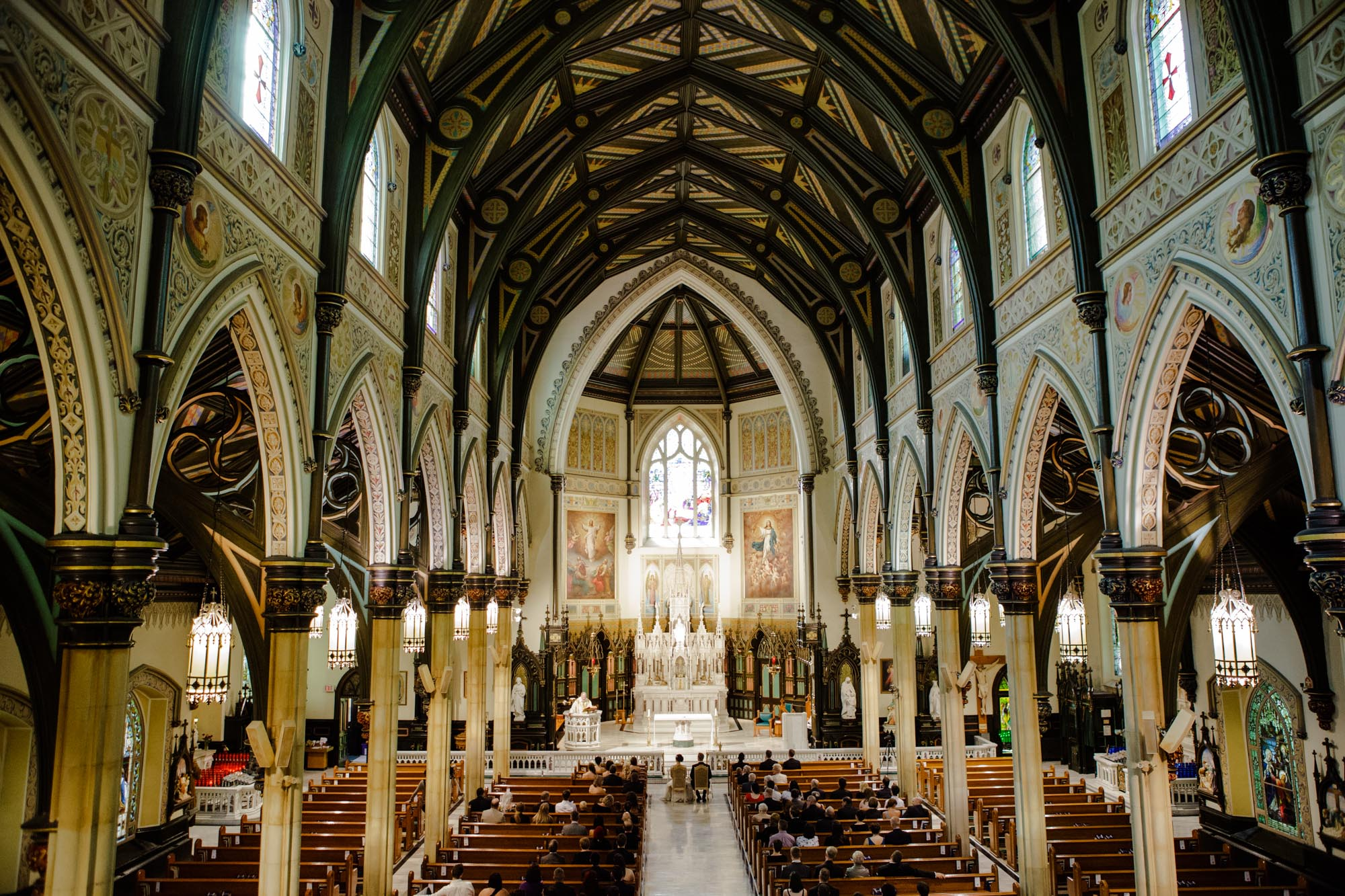 Wedding Photography Fusion At St Patrick S Basilica In