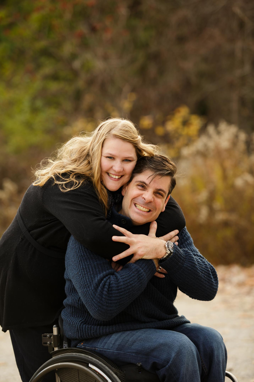 Laura + Jimmy Hug