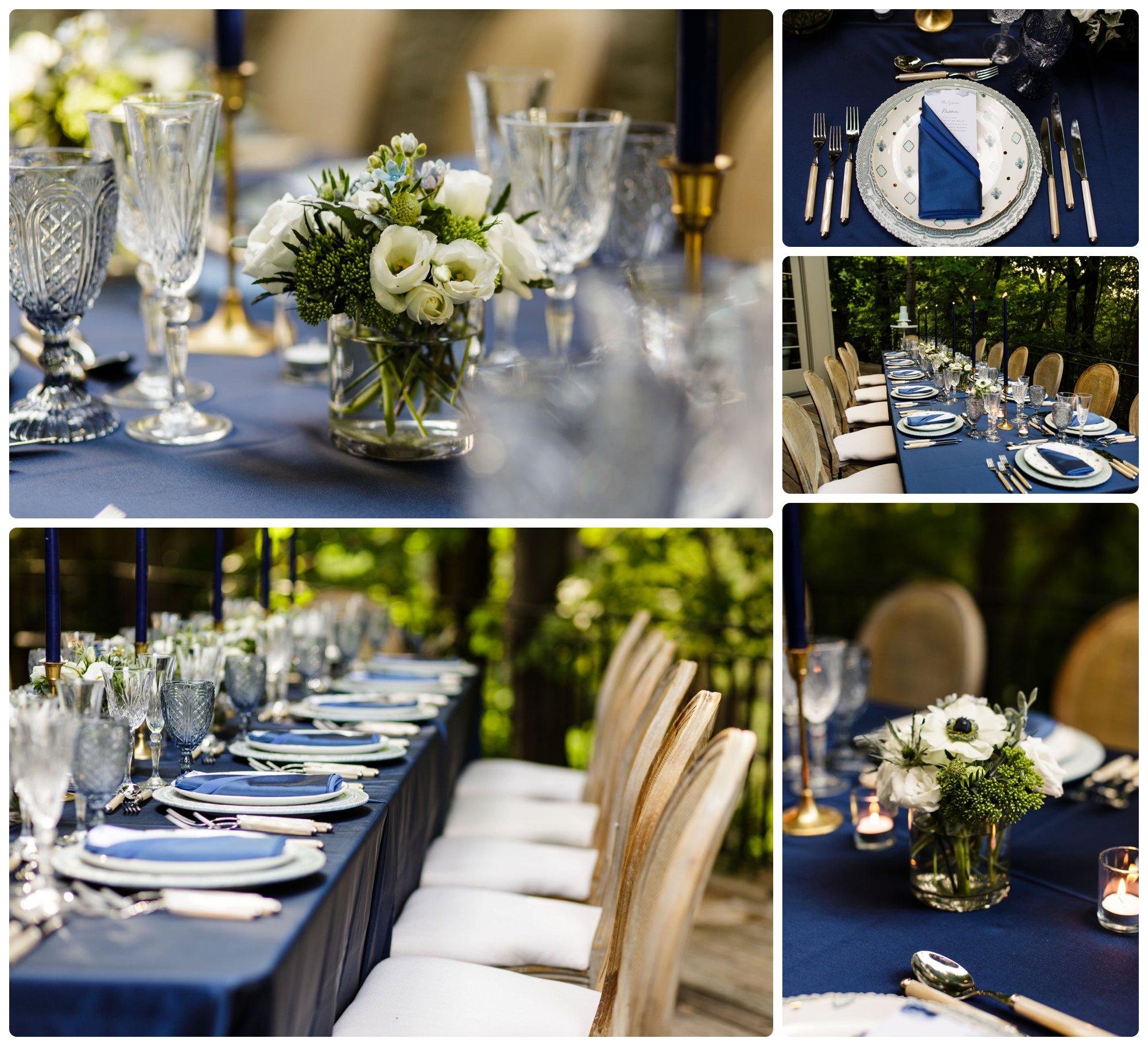 backyard wedding reception luxury